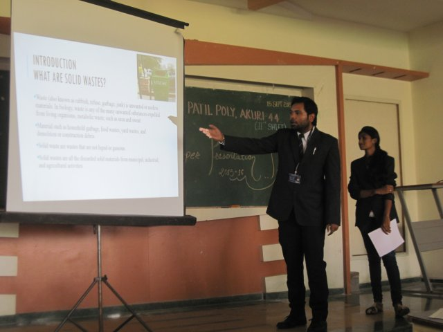 Paper presentation by Students