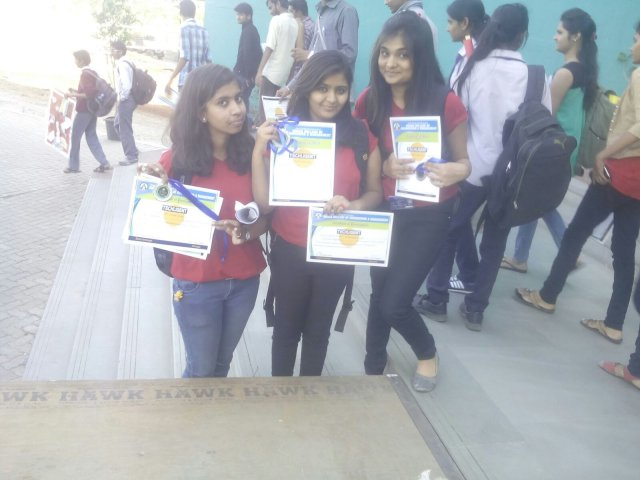 Winners of Paper presentation